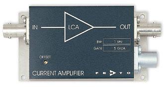 超低ノイズ電流アンプ・Ultra Low Noise Current Amplifier Series LCA