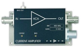 高速電流アンプ・High Speed Current Amplifier Series HCA