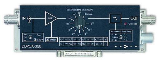 可変ゲインサブフェムトアンペア電流アンプ・Variable Gain Sub Femto Ampere Current AmplifierDDPCA-300