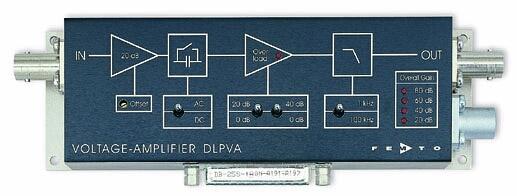 低周波数電圧アンプ・Low-Frequency Voltage Amplifiers Series DLPVA
