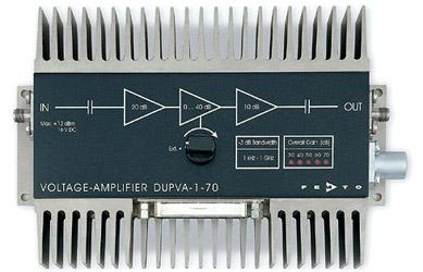 1GHz可変ゲイン電圧アンプ・1GHz Variable-Gain Voltage Amplifiers Series DUPVA
