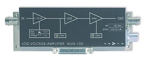 LOGワイドバンド電圧アンプ・Logarithmic Wideband Voltage Amplifier HLVA-100