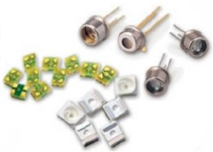 UV Sensor component UVセンサー