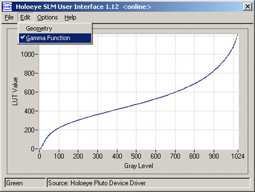 GAEA-2 空間光変調器 - ソフトウェア特徴