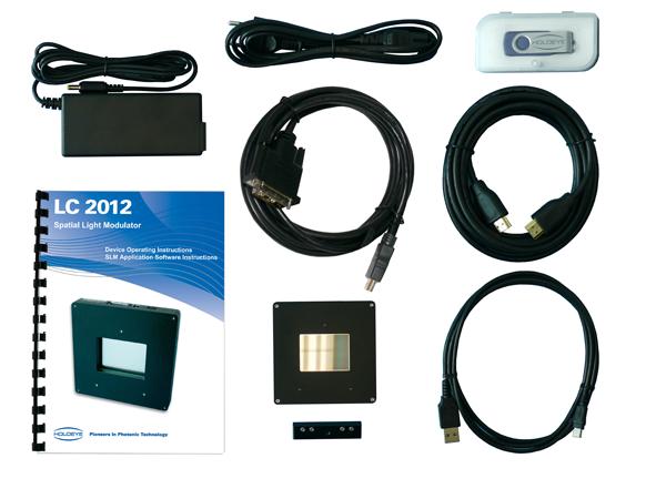 LC 2012 空間光変調器 キット内容