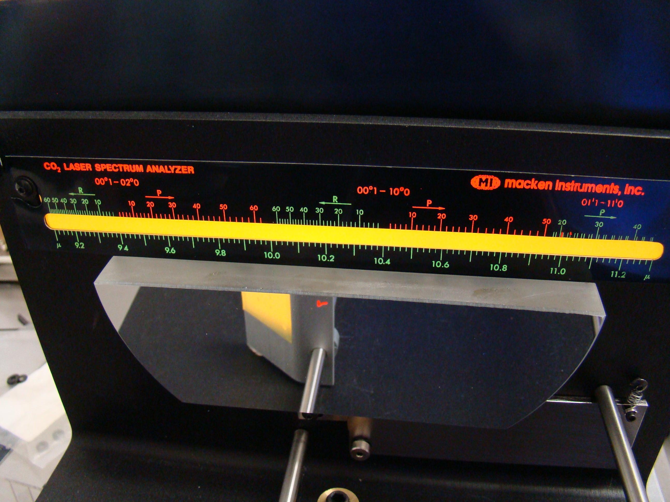 他のIRレーザー用スペクトラムアナライザ
