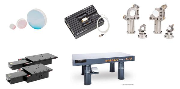レーザー・光ファイバ・光学測定器・光学部品・オプティクス・マウント・ホルダー・ステージ・光学テーブル